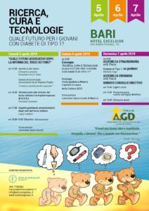 Programma del convegno AGD Italia Bari 2019